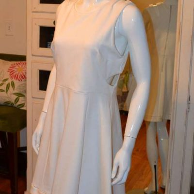 French Connection Cream dress – 12