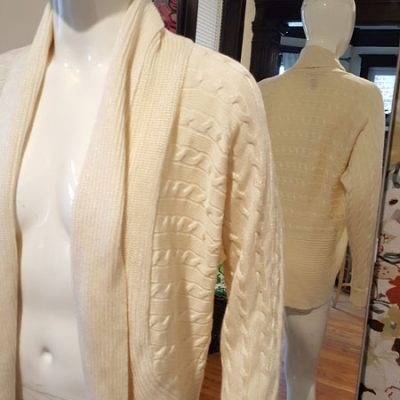 Ralph Lauren Cable Knit size L cardigan