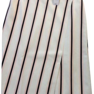 White House | Black Market Multi Stripe Skirt Size 12